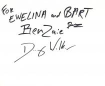 Autografy chłopaków dla Akane i BTM-a