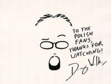 Autograf Douga dla wszystkich fanów z Polski!